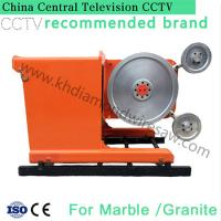 Buy cheap 360 degree big water jet granite and marble block wire saw stone cutter machine from wholesalers