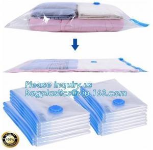 China zipper travelling bag, zipper storage pocket, zipper fresh protection package, vacuum storage bags for travel, bagplasti on sale