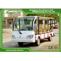 Quality Small Electric Sightseeing Bus , 7.5KM Motor 72V Trojan Electric Tour Car for sale