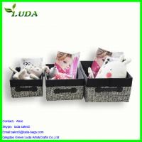 Best Wholesale woven canvas storage box wholesale