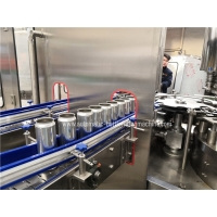 Quality 330ml  Juice Beverage Can Filling Machine  Automatic Can Filler Seamer Line for sale