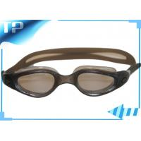 China Anti Scratch Silicone Mens Swimming Goggles / Swimming Mask Goggles With PC Mirror on sale