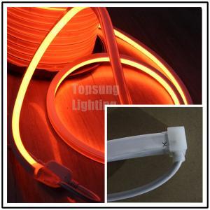 Best AC 220V orange square led neon flexible light 220v 16x16mm for shop decoration wholesale