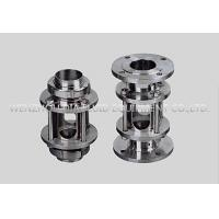 China SS Sanitary Sight Glass Valve With Union and Flange End Tp304 Tp316L on sale