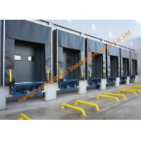 Quality Container Loading Dock Fabric Industrial Doors With Seal Shelter For Distribution Center for sale