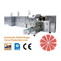 Quality Ice Cream Cone Production Line Efficiency 2.0hp 1.5kW for sale