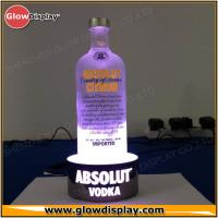 Best Silvery Acrylic LED Wine Light Up Bottle Display / Bar Bottle Display wholesale