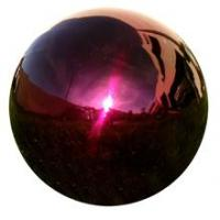 China stainless steel gazing balls on sale