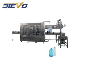 Quality 5L 3 In 1 PET Plastic Bottle Automatic Water Filling Machine for sale