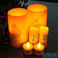 Best 1,000hrs Resin Outdoor/Indoor Flameless LED Candle with 4 and 8hrs Timer wholesale