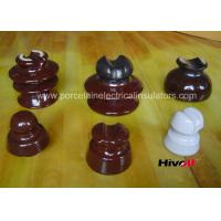 Quality 11kV And Below Porcelain Pin Type Insulators With Porcelain Thread for sale