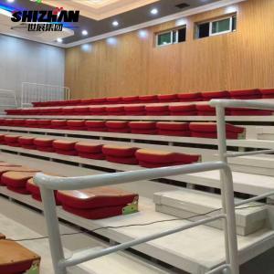 Quality Assemble Football Stadium Chairs SGS Folding Bleacher Seats for sale