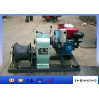 Quality Small 5 Ton Reversing Cable Pulling Tools Winch With Water Cooled Diesel Engine for sale