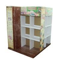 Best Paper recyclable Cardboard Pallet Display Stand For Pets Food Promotion wholesale