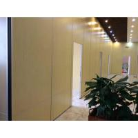 Quality Melamine Surface Interior Door Sliding Wall Track MDF Movable Partition for Indian Restaurant for sale