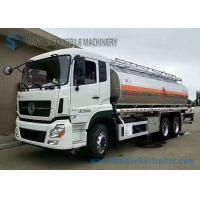 Buy cheap Diesel 21.2m3 Pump Chemical Tanker Truck Dong Feng 6x4 Truck ISDe245 40 Engine from wholesalers