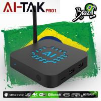 Buy cheap HTV5 IPTV Box Brasil 4K 400 TV Channels Bluetooth Android 6.0 With Playback from wholesalers