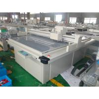 Quality No Burning Box Cutting Machine / Flatbed Cutting Plotter For  Display for sale