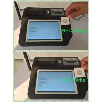 Best Swipe Card Wireless POS Terminal , 7inch Color TFT LCD Touch Screen POS System wholesale