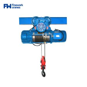 Quality Finework CD1 Single Speed Electric Wire Rope Hoist 500kg for sale