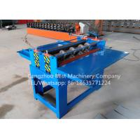 China Professional Electric Simple Color Steel Metal Sheet Coil Slitting Machine 2 Years Warranty on sale