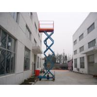 Quality 10m man stationary mobile scissor lift, portable fixed scissor lift platform for sale
