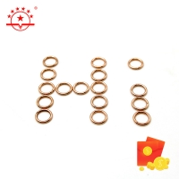 Quality Copper Base Alloy Bcup-2 Bcup-3 Brazing Rings for sale
