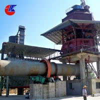 China 600 TPD Cement Active Lime Calcination Rotary Kiln for sale