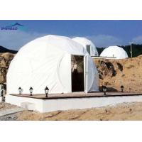 Quality Dome Heavy Duty Army Tents With Hot Dip Galvanized Steel Military Shelter for sale
