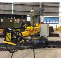 Quality Light Pole Production Line Motorized Control Up Down Rotation / Forward / Reverse Column Boom for sale