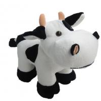 Quality Standing Pose RedBull Black Cow Milka Cow Plush Toys for sale
