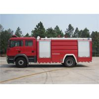 China ISUZU Chassis Water Tanker Fire Truck on sale