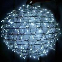 China Foldable LED Christmas Ball Light with 40 Sparkle/IP44 Waterproof Grade, Suitable for Outdoor Use on sale