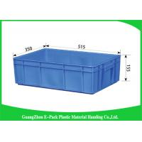 China Customized Plastic Storage Trays 100% New Pp Light Weight Nested Freely HDPE on sale