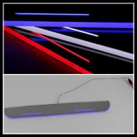 Quality For Ford Focus LED door sill plate lights LED moving door scuff LED courtesy lamps Focus for sale