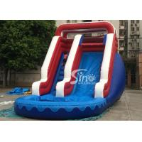 Quality Verruckt Commercial Inflatable Water Slides Games with 1st Class PVC Tarpaulin for sale
