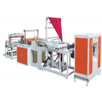 China 1020c Industrial Large Garbage Bag Making Machine With Labeling Function on sale