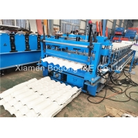 Quality 7.5KW Corrugated Metal Roof Roll Forming Machine For PEB Project for sale