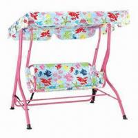 China Outdoor Patio Swing with Bed and 6mm Polyester Cushion on sale