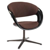 Quality Modern Glossy Paint Modern Occasional Chairs Fiberglass Material With PU Seat for sale