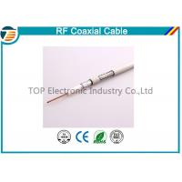 Quality Small 50ohm RG174 Coaxial Cable For Antenna / Communication Telecom for sale