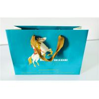 Quality Customized Matte Lamination Cartoon Paper Shopping Bags For Cosmetics , Jewelry for sale