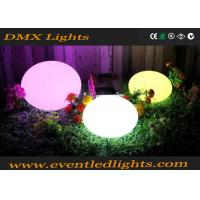 China Rechargeable LED Waterproof Ball IP68 / LED Flashing Lighting Toys Bouncing Ball on sale