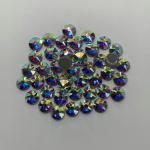 Quality Tiny Rhinestones For Dresses / Sew On Rhinestones 10mm Diameter for sale