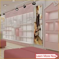 China High quality furniture for shoe store decoration/shoe store fixtures on sale