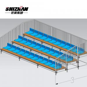 Quality Dismountable Portable Tadium Bleacher Seating Injection Molding Plastic for sale