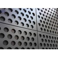 Quality Metal Building Materials Low Carbon Iron And Stainless and Aluminum Perforated Metal Mesh for sale