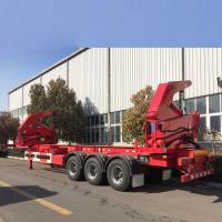 China Trailer Box Loader for loading 20ft 40ft container on sale