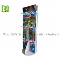 Quality Free Standing Cardboard Spinner Display Racks Of Cute Ear Buds for sale