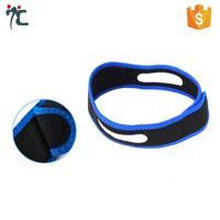 Quality adjustable stop anti-snoring anti snoring chin strap vents to stop snoring for sale